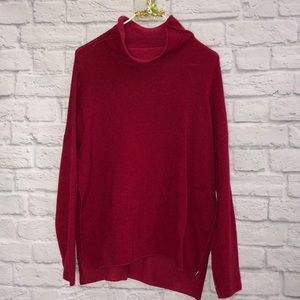 Eileen Fisher Recycled Cashmere Cranberry Sweater